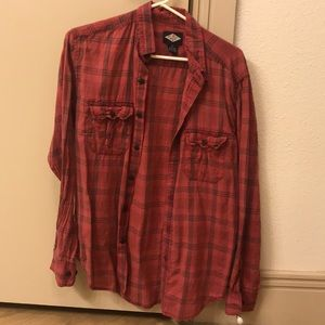 Red Urban flannel
